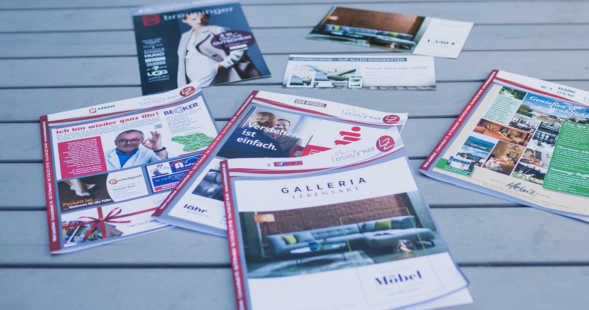 Zeitschriften Lesezirkel Anzeigen